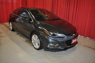 Used 2018 Chevrolet Cruze Premier   Nav   Roof   RS Package for sale in Listowel, ON