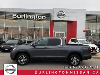 Used 2017 Honda Ridgeline EX-L, ACCIDENT FREE, 1 OWNER ! for sale in Burlington, ON