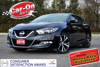 Used 2018 Nissan Maxima SL LEATHER NAV PANO ROOF REAR CAM LOADED for sale in Ottawa, ON
