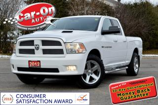 Used 2012 RAM 1500 Sport 4X4 LEATHER NAV SUNROOF REAR CAM 54,000 KM for sale in Ottawa, ON