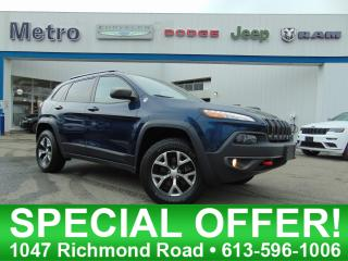 Used 2018 Jeep Cherokee Trailhawk for sale in Ottawa, ON