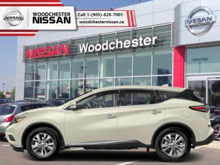 New 2018 Nissan Murano AWD SL  - $269.73 B/W for sale in Mississauga, ON