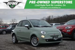 Used 2013 Fiat 500 Lounge - one owner, alpine premium audio, heated s for sale in London, ON