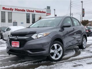 Used 2016 Honda HR-V LX - Back up Camera - Heated Seats - Bluetooth for sale in Mississauga, ON