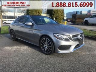 Used 2015 Mercedes-Benz C-Class C400 4MATIC for sale in Richmond, BC
