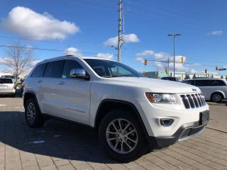 Used 2014 Jeep Grand Cherokee Limited**Sunroof**Navigation** for sale in Mississauga, ON