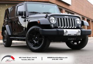 Used 2017 Jeep Wrangler UNLIMITED SAHARA | Navigation|Brown Leather |Heated Seats for sale in Toronto, ON