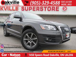 Used 2011 Audi Q5 2.0T | QUATTRO | LEATHER | PANO ROOF | HTD SEATS for sale in Oakville, ON
