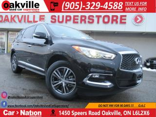 Used 2018 Infiniti QX60 AWD | LEATHER | MOONROOF | B/U CAM | for sale in Oakville, ON