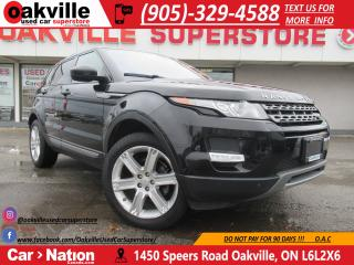 Used 2015 Land Rover Evoque PURE PREMIUM | NAVI | PANOROOF | BLINDSPOT for sale in Oakville, ON
