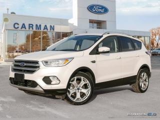 Used 2017 Ford Escape TITANIUM TECH PACK for sale in Carman, MB