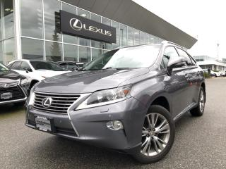Used 2013 Lexus RX 350 6A Touring Pkg, Local, Navi for sale in North Vancouver, BC
