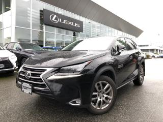 Used 2015 Lexus NX 200t 6A Luxury Pkg, Navi, Local for sale in North Vancouver, BC