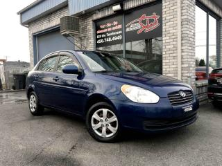 Used 2011 Hyundai Accent Berline 4 portes, boîte automatique, GL for sale in Longueuil, QC