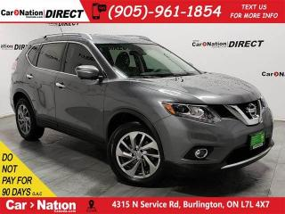 Used 2015 Nissan Rogue SL| AWD| LEATHER| PANO ROOF| NAVI| for sale in Burlington, ON