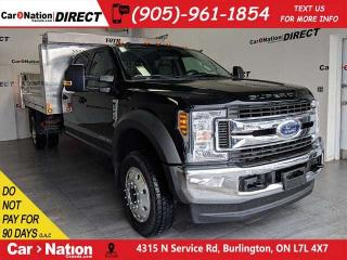 Used 2018 Ford F-550 Chassis CAB XLT| POWER DUMP| BRAND NEW| LEASE OR OWN| for sale in Burlington, ON