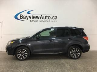 Used 2017 Subaru Forester XT - STARLINK! PANOROOF! REVERSE CAM! BLUETOOTH! PWR LIFTGATE! PADDLE SHIFTERS! for sale in Belleville, ON