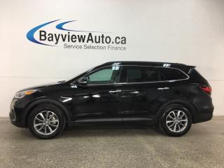 Used 2018 Hyundai Santa Fe XL Premium - 7 PASS! PANOROOF! HTD LTHR! BSA! APPLE CARPLAY! ANDROID AUTO! for sale in Belleville, ON