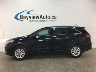 Used 2019 Kia Sorento 2.4L EX - 7 PASS! HTD LTHR! REVERSE CAM! BLUETOOTH! HTD STEERING WHEEL! for sale in Belleville, ON
