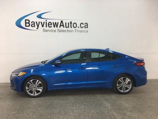 Used 2018 Hyundai Elantra GL - HTD LTHR! SUNROOF! REVERSE CAM! BLUETOOTH! for sale in Belleville, ON