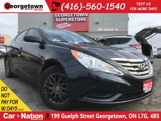Used 2013 Hyundai Sonata GL| ACCIDENT FREE | TINTS | ALLOYS | HEATED SEATS for sale in Georgetown, ON