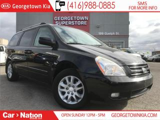 Used 2008 Kia Sedona EX LUXURY | LEATHER | PWR DOORS | DVD | MOON ROOF for sale in Georgetown, ON