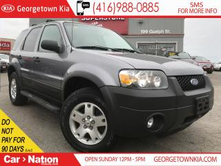 Used 2007 Ford Escape XLT | V6 | 4X4 | ONLY 120KM's | for sale in Georgetown, ON