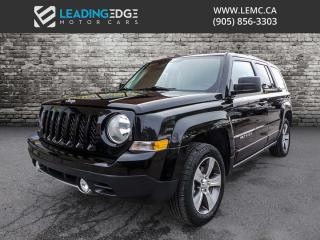 Used 2017 Jeep Patriot Sport/North Leather, Sunroof, Heated Seats for sale in Woodbridge, ON