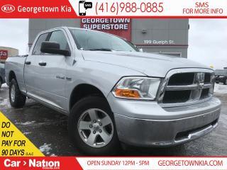 Used 2010 Dodge Ram 1500 SLT | QUAD CAB | 4X4 | NAVI | 5.7L V8 | for sale in Georgetown, ON