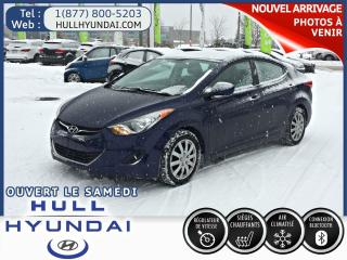 Used 2013 Hyundai Elantra GL for sale in Gatineau, QC