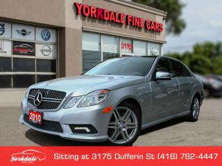 Used 2010 Mercedes-Benz E-Class 550 Panoramic. Navigation. Camera. Blind spot assist for sale in Toronto, ON