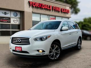 Used 2013 Infiniti JX35 Nvigation. Camera. DVD. Very Clean for sale in Toronto, ON