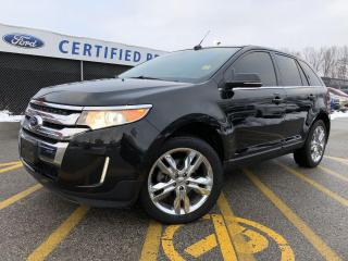 Used 2014 Ford Edge Limited AWD|NAVIGATION|PANORAMIC ROOF|BLUETOOTH for sale in Barrie, ON