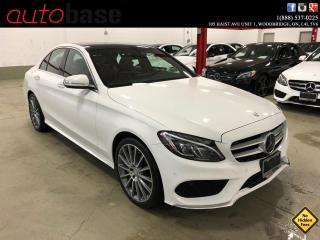 Used 2015 Mercedes-Benz C-Class C400 4MATIC INTELLIGENT DRIVE SPORT LED RED INT! for sale in Vaughan, ON