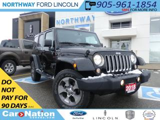 Used 2018 Jeep Wrangler Unlimited Sahara | NAV | 4X4 | HEATED LEATHER | for sale in Brantford, ON