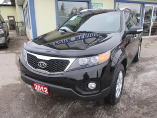 Used 2012 Kia Sorento POWER EQUIPPED LX EDITION 5 PASSENGER 2.4L - DOHC.. AWD.. HEATED SEATS.. CD/AUX/USB INPUT.. BLUETOOTH SYSTEM.. for sale in Bradford, ON