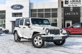 Used 2010 Jeep Wrangler Unlimited Sahara for sale in Ottawa, ON