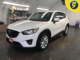 Used 2015 Mazda CX-5 GT * AWD * Navigation * Sunroof * Leather * Phone connect * Voice recognition * Heated front seats * Reverse camera * Blindspot assist * Hands free st for sale in Cambridge, ON