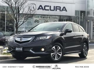 Used 2016 Acura RDX Elite at - Coming Soon for sale in Markham, ON