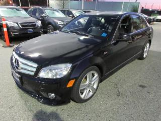Used 2010 Mercedes-Benz C 300 4MATIC Sedan LEATHER - SUNROOF - BACK UP SENSORS for sale in Vancouver, BC