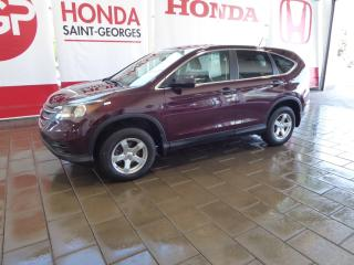 Used 2014 Honda CR-V Editon Lx for sale in St-Georges, QC