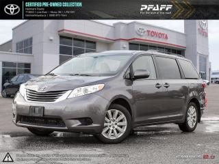 Used 2015 Toyota Sienna LE AWD 7-Pass V6 6A AWD, ONE OWNER, CLEAN! for sale in Orangeville, ON