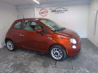 Used 2012 Fiat 500 Pop for sale in Ancienne Lorette, QC