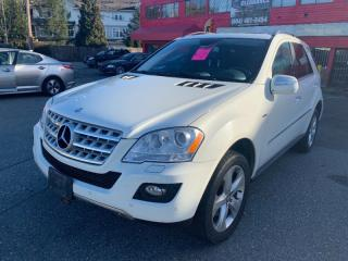 Used 2010 Mercedes-Benz ML-Class 4MATIC 4dr ML 350 BlueTEC for sale in Surrey, BC