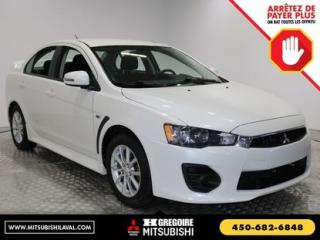 Used 2016 Mitsubishi Lancer SE A/C for sale in Laval, QC