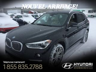 Used 2016 BMW X1 28I XDRIVE + TOIT PANO + GARANTIE BMW + for sale in Drummondville, QC