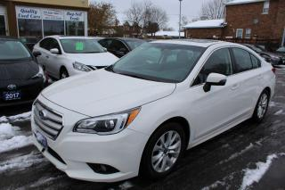Used 2017 Subaru Legacy 2.5i w/Touring Pkg for sale in Brampton, ON