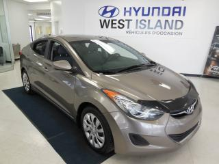 Used 2013 Hyundai Elantra GL 1.8L, Berline, automatique for sale in Dorval, QC