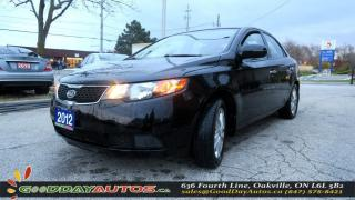 Used 2012 Kia Forte EX|NO ACCIDENT|ALLOYS|HEATED SEATS|BLUE TOOTH for sale in Oakville, ON