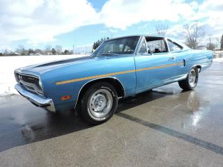 Used 1970 Plymouth Road Runner 383. 4 speed. Numbers matching for sale in Gorrie, ON